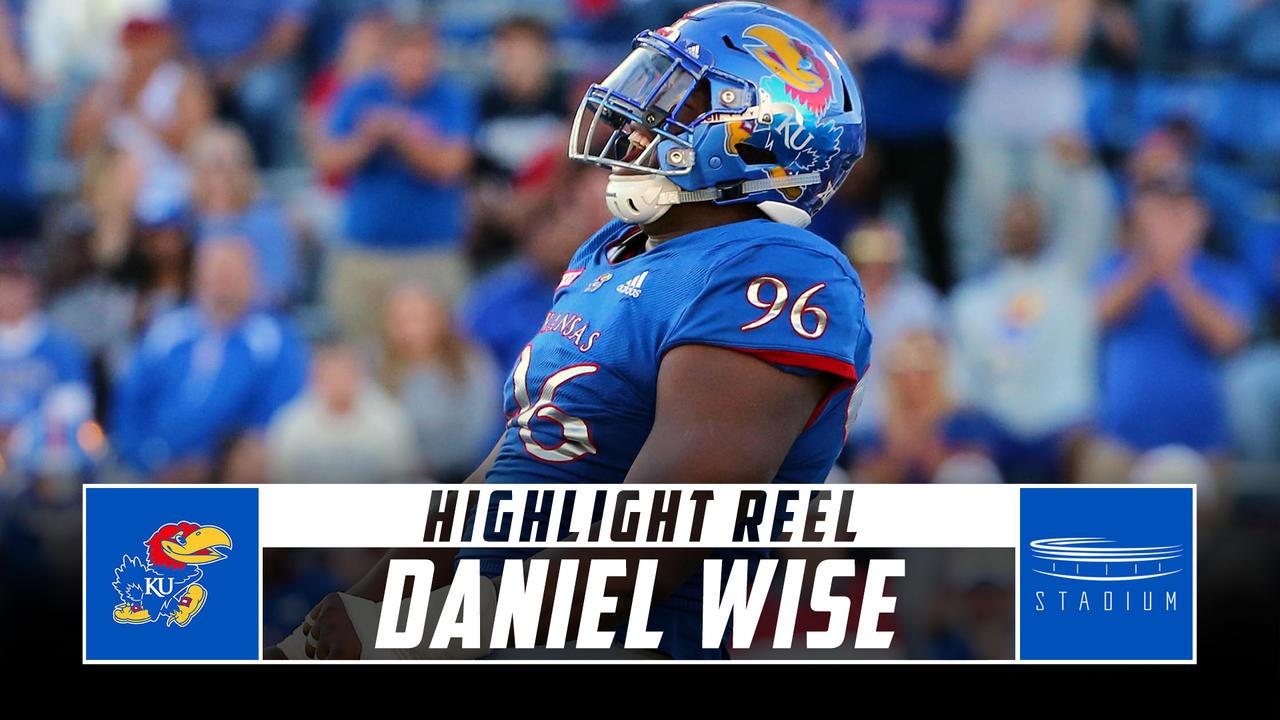newest collection 17749 9a0fa Daniel Wise Kansas Football Highlights - 2018 Season
